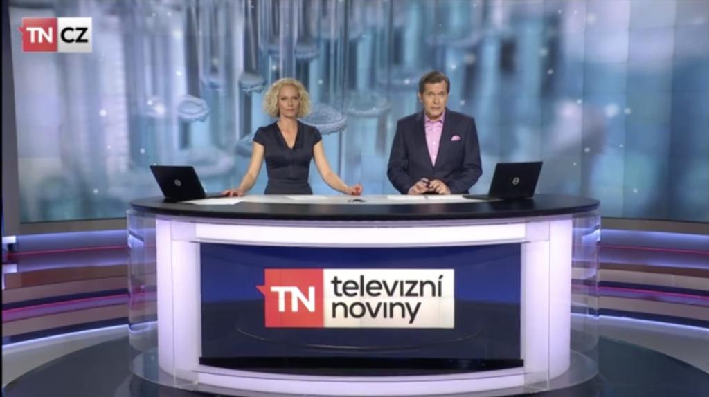 Reportáž TV Nova se dvěma video-ukázkami